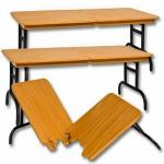 โต๊ะไม้หักกลางสำหรับโมเดล (งานแท้)