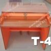 """10 ตัว ตัวล่ะ 1180 บาท T-445 สีบีช/ขาส้ม """"เมลามีน"""""""