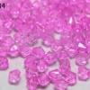 คริสตัลพลาสติก สีชมพู 6มิล(100กรัม)(1,232เม็ด)