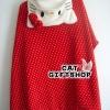 พร้อมส่ง :: ผ้าคลุม Hello Kitty สีแดง