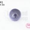 เพชรพญานาคหรือมณีใต้น้ำ กลม ไม่มีรู สีม่วงอ่อน 16มิล(1ชิ้น)