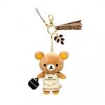 [สินค้าหมด] พวงกุญแจ San-X Rilakkuma FR57101 Chocolate & CoffeeSeries