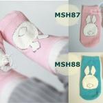 ถุงเท้าเด็กกันลื่น ไซส์ 10-12,12-14 ซม. MSH87-88
