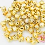 กระดิ่งจีน สีทอง 7มิล (400ชิ้น)