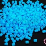 เม็ดบีทรีดร้อน สีฟ้า 2.5มิล (1ขีด/8,870ชิ้น)