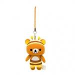 [สินค้าหมด] ที่ห้อยมือถือ San-X Rilakkuma MP05101 Meets Honey