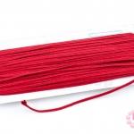 เชือกไหม สีแดงเข้ม 1หลา(90ซม)