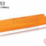 เชือกไหม สีส้ม (1หลา/90ซม)