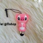 พร้อมส่ง : ปากกาจิ้มไอโฟน Stitch Pink