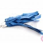 พู่ผ้าลาตินย้อม สีฟ้าคราม (1ชิ้น)