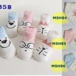 ถุงเท้าเด็กกันลื่น ไซส์ 10-12,12-14 ซม. MSH84-86