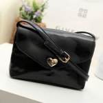 B023 Heart Leather Bag
