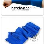 ถุงแขนกันแดด ปลอกแขนป้องกันUV สีน้ำเงิน