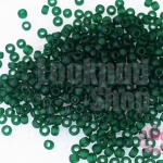 ลูกปัด Miyuki สีเขียวเข้มหม่น #1 3มิล(10กรัม)