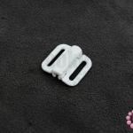 ตะขอเกี่ยว พลาสติก สีขาว 16X17มิล(1ชิ้น)