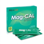 Mag CAL แมก-แคล แคลเซียม อมิโนแอซิดคีเลต + แมกนีเซียมวิตามินแร่ธาตุ รับประทานง่ายกลิ่นแอปเปิ้ลเขียว ดูดซึมง่าย