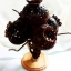 โคมไฟกะลามะพร้าว Coconut Shell Lamp (Opium Flower) thumbnail 1