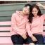 เสื้อกันหนาวคู่รักพร้อมส่ง แฟชั่นคู่รัก ชาย +หญิงเสื้อกันหนาวแบบสวม มีฮูด สีชมพู thumbnail 6