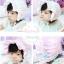 หมวกเด็กหญิง สีขาว สีชมพู PB15 thumbnail 2