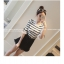 เสื้อแฟชั่นเกาหลี แขน 2 สวย แต่งแขนด้วยผ้าแก้วแต่งโบว์น่ารัก ๆ สีขาว thumbnail 2