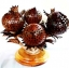 โคมไฟกะลามะพร้าว Coconut Shell Lamp Flowers thumbnail 1