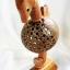 โคมไฟกะลามะพร้าวม้าน้ำ Coconut Shell Lamp Seahorse thumbnail 1