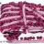 ปอมเส้นยาว ผ้าแถบ สีแดงเลือดหมู กว้าง 2.5ซม(1หลา/90ซม) thumbnail 1