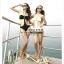 พร้อมส่ง ชุดว่ายน้ำวันพีซ Monokini สายคล้องคอ เอวเว้าลึก สวยเซ็กซี่มากๆ thumbnail 5