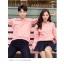 เสื้อกันหนาวคู่รักพร้อมส่ง แฟชั่นคู่รัก ชาย +หญิงเสื้อกันหนาวแบบสวม มีฮูด สีชมพู thumbnail 2