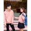 เสื้อกันหนาวคู่รักพร้อมส่ง แฟชั่นคู่รัก ชาย +หญิงเสื้อกันหนาวแบบสวม มีฮูด สีชมพู thumbnail 5
