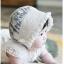 หมวกเด็กน่ารักสีขาวครีม PB54 thumbnail 1