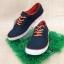 รองเท้าผ้าใบ Giallo รุ่น GM1 สีดำส้ม thumbnail 1