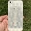 ** พร้อมส่งค่ะ ** เคส iPhone 5/5s/se ลายสาน สีขาวใส thumbnail 1