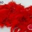 ขนนก มีดิ้น สีแดง (1เส้น) thumbnail 1