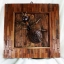 โคมไฟกะลามะพร้าวติดผนังรูปมด Ant Ant Wall Hanging thumbnail 1