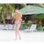 PRE ชุดว่ายน้ำบิกินี่ บรามีโครง สายคล้องคอ กางเกงบิกินี่ พร้อมเสื้อคลุมลายสวยเก๋ thumbnail 18