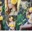 พร้อมส่ง ชุดว่ายน้ำบิกินี่ทูพีซ บราสีเหลืองสวย บิกินี่ลายเสือ sexy thumbnail 5