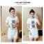 เดรสแฟชั่นเกาหลี แต่งลูกไม้ที่ชายกระโปรง พิมพ์ลาย ตามภาพ เนื้อผ้า cotton VIP : 260 thumbnail 9