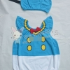 ชุดบอดี้สูท+หมวก แฟนซี มาใหม่สไตล์เกาหลี ผ้า cotton เนื้อนุ่ม ใส่สบาย