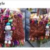 ตุ๊กตาห้อยพวงกระเป๋า 00469/ Hmong Doll Bag Charm 00469