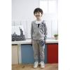 ชุดเซ็ทเด็ก เสื้อแขนยาวมีฮูทเห่ห์ๆ + กางเกงขายาว สไตล์เกาหลี