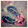 รองเท้าสานผ้าชาวเขา HSA002 / Barefoot Hmong Fabric Shoes HSA002