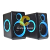 ลำโพง Music D.J. (DJ-268) Black-Blue