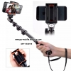 YT1288 Selfie Monopod Extendable Handheld Pole Shutter for iPhone GoPro Android