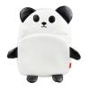 กระเป๋าเป้คุณหนู Linda มาใหม่ ลายหมีแพนด้า สีดำ-ขาว น่ารัก ทำจากวัสดุ PVC คล้ายหนัง