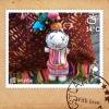 ตุ๊กตาห้อยพวงกระเป๋า 00470/ Hmong Doll Bag Charm 00470