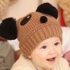 หมวกรูปหมีแพนด้า สีน้ำตาล น่ารักสไตล์เกาหลี