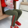 กางเกงเเด็ก ตกแต่งด้วยซิป ทห์ๆ สไตล์เกาหลี