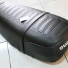 เบาะยาว Suzuki TS125 K-L-M งานบริษัท อีเกิ้ล ใหม่เก่าเก็บ พื้นเหล็ก ไม่แท้