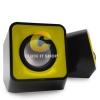 Nubwo BLOCK speaker 2.0 usb ns003 - สีเหลือง